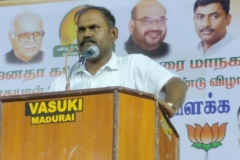BJP Puthu Mandal Resident R Jothi Manivannan (Shankar)
