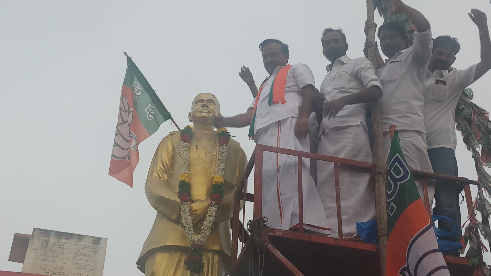 In Madurai Granite Belt Bjp Campaign A Good Hit Video